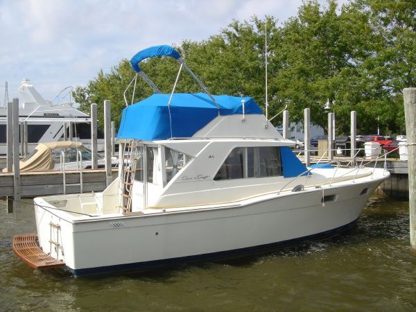 1970 Chris-Craft 350 Commander Sport Fish, Whitehall