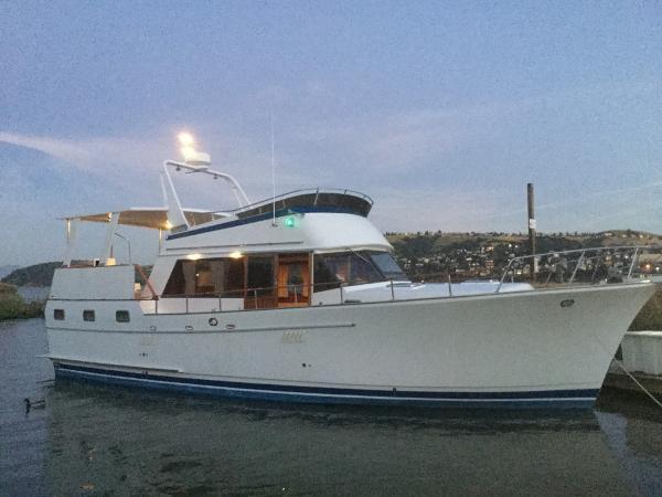 Sea Ranger 45 SunDeck Aft Cabin Trawler Majestic Profile