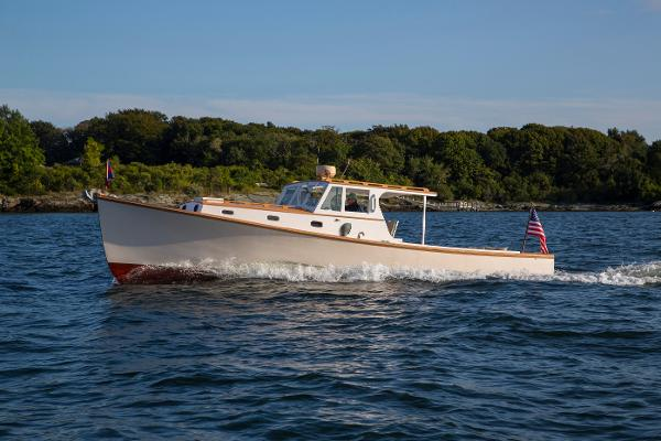 Custom Downeast Lobster Yacht