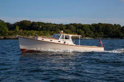 Custom Downeast Lobster Yacht