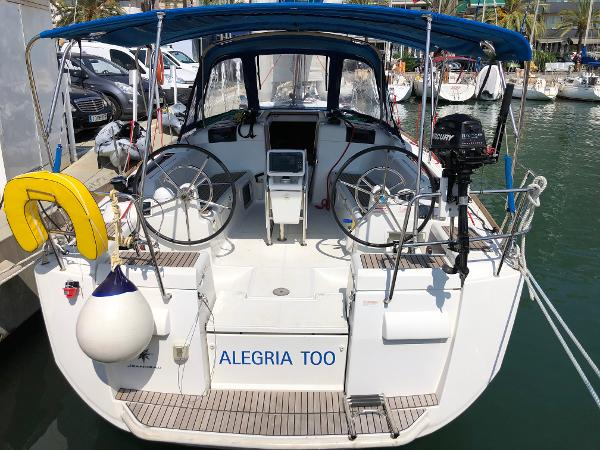 Jeanneau Sun Odyssey 409 Transom and Cockpit View (1)
