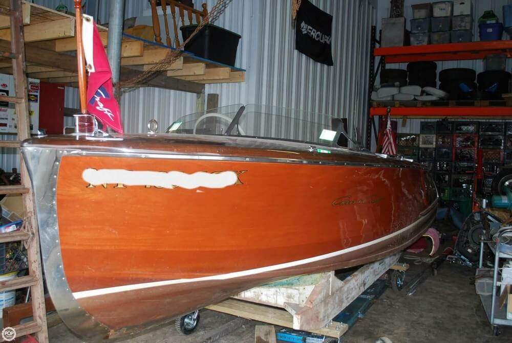 Chris-Craft 17' Deluxe Runabout 1947 Chris-Craft 17' De Lux Runabout47-5 for sale in Bethel, NY