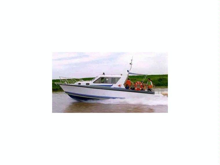Alu-Kajutboot Karelli 29