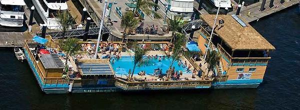 Custom Tiki Barge