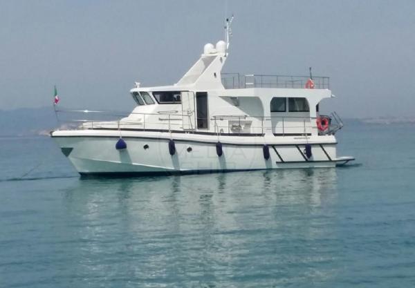 Custom Cantieri Navali Del Golfo Srl Motovedetta 15 Mt CANTIERI NAVALI DEL GOLFO SRL - MOTOVEDETTA 15 MT - exteriors