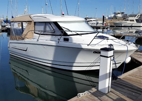 Jeanneau Merry Fisher 755 Jeanneau Merry Fisher 755 with BJ Marine