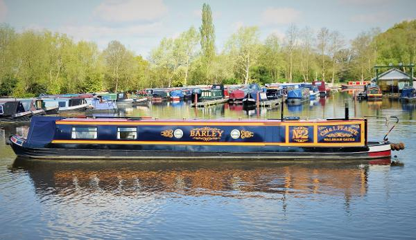 Stenson Traditional Narrowboat