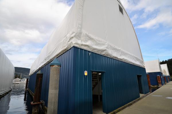 Custom Boathouse C5 Maple Bay Marina