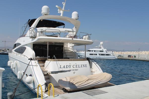 Princess 85 Yacht Stern