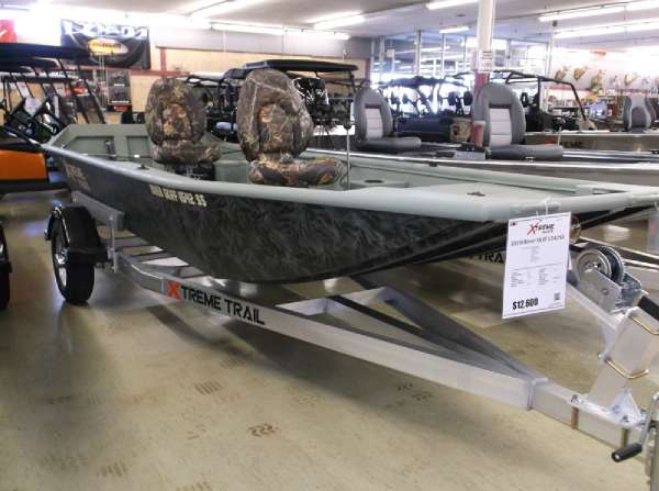 Xtreme 2018 River Skiff 1542SS