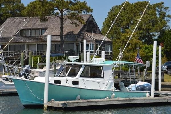 Crusader Boats 34' Downeast Cuddy