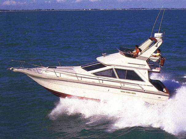 Sea Ray 345 Sedan Bridge Manufacturer Provided Image