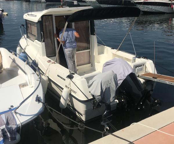 Quicksilver 555 Fisherman