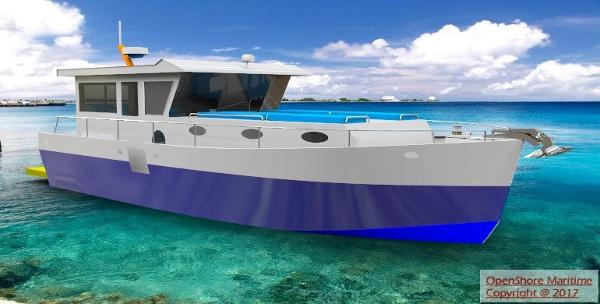 Custom Open Shore Islander 35