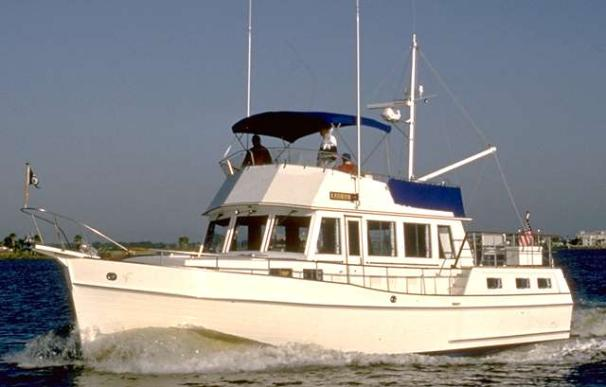 Grand Banks 46 Motoryacht At Sea - similar vessel