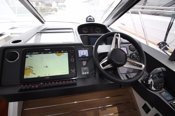 Princess V48 Open Helm Console