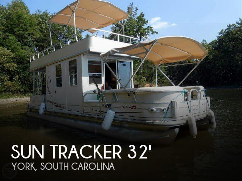 Sun Tracker 31 Party Cruiser 2007 Sun Tracker Party Cruiser 32 for sale in York, SC