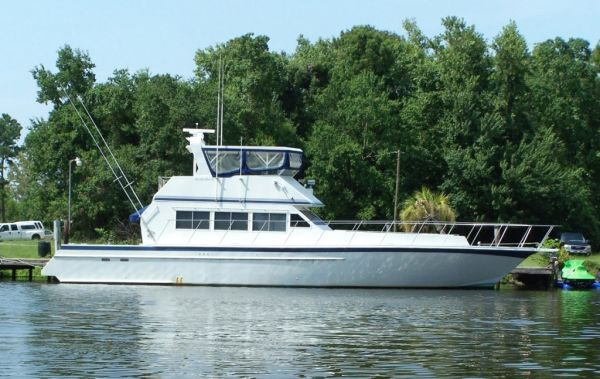 Custom Steel Convertable/Cruiser Motor Yacht