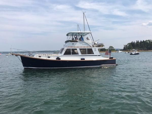 Wilbur Flybridge Downeast Wilbur Duffy 42'