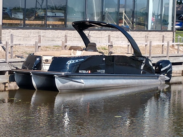 Used pontoon boats for sale in wisconsin for Used outboard motors for sale wisconsin