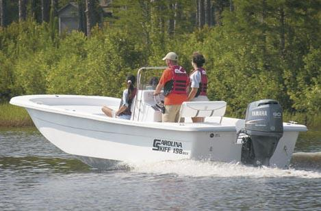 Carolina Skiff 198 DLV Manufacturer Provided Image