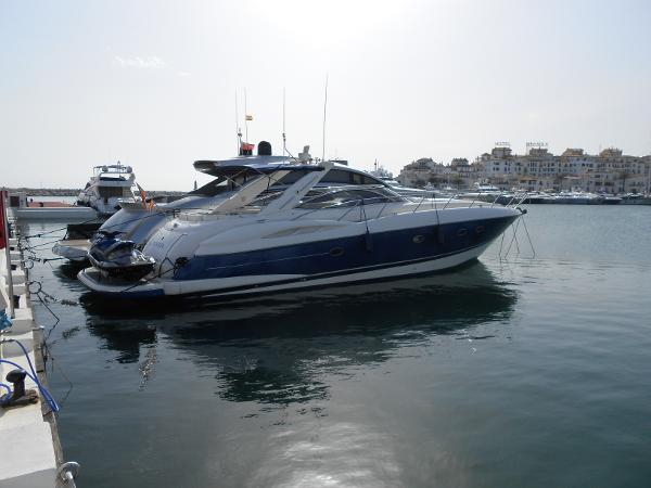 Sunseeker Predator 56 Lying in Port