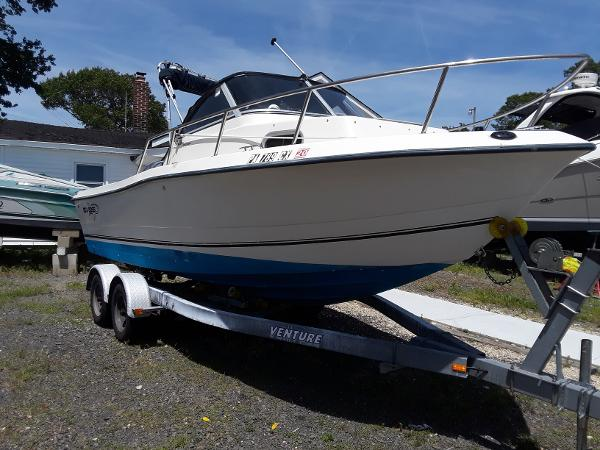 Sea Boss 210 Walkaround 2006 Sea Boss 210 WA