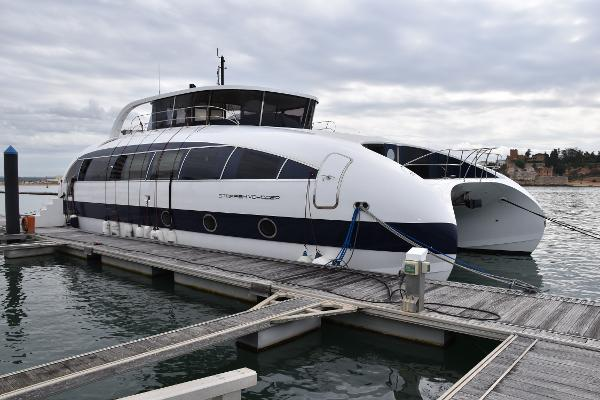 Custom Quad Jet Hydrofoil Catamaran