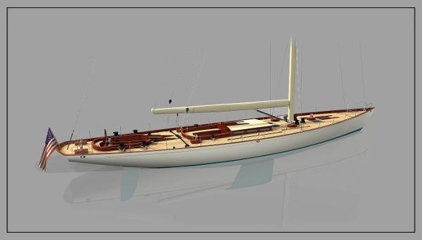 W-100 Stern 3D Perspective