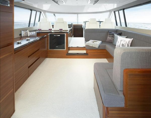 Sealine F490 Saloon and Galley