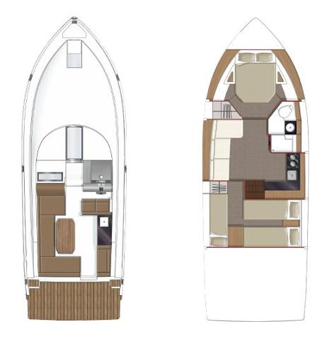 Sealine S380 Layout Plans