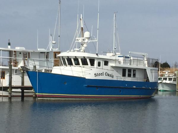 Cape Horn CH63 63' Cape Horn CH63 Trawler STEEL OASIS