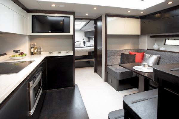 Sealine S450 Galley
