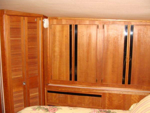 Master Stateroom Storage