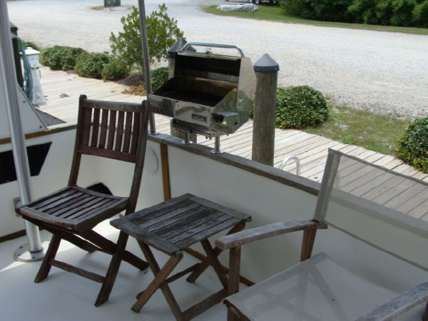 Deck Furniture/BBQ Pit