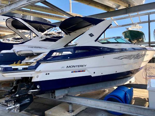 Monterey 328 SS Profile