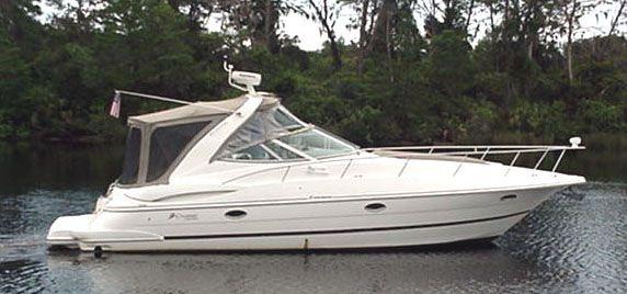 Cruisers Yachts 3470 Express Profile