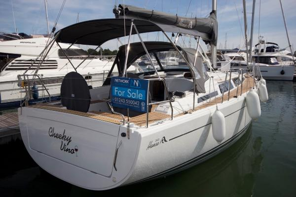 Hanse 345 shallow draft