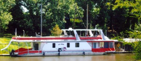 1999 78' Horizon Widebody Houseboat /Aluminum hull with fiberglass superstructure