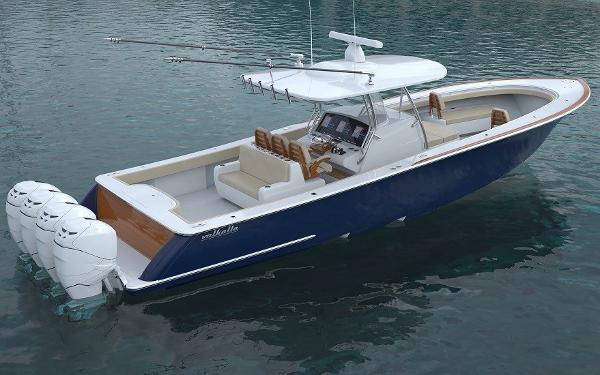 Valhalla Boatworks V-41 V41 Aft Quarter