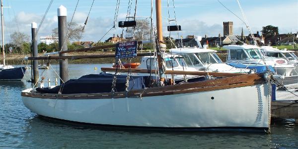 Custom Itchen Ferry Gaff Cutter