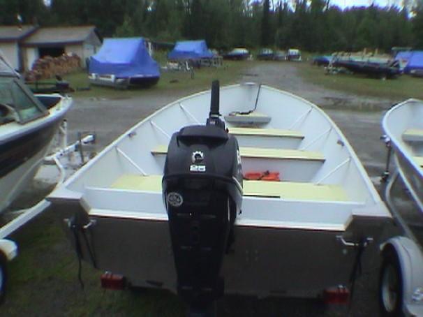 Misty River 1573 TILLER BOAT