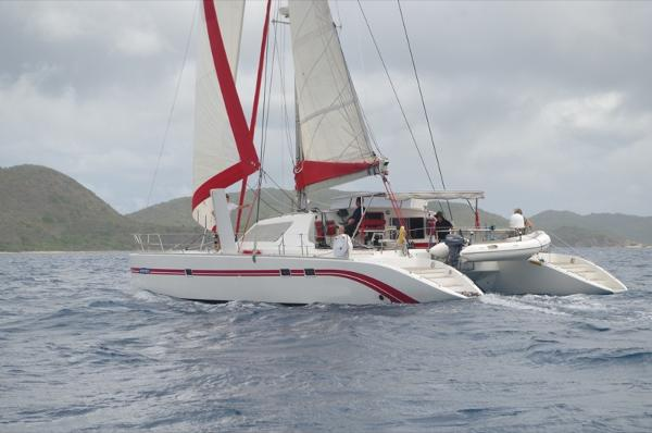 Switch 55 Under sail