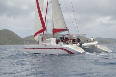 Switch 55 Under sail
