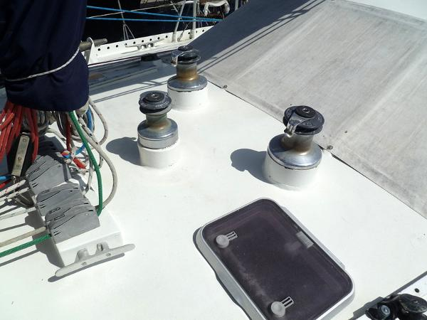 Winches Aft of Mast