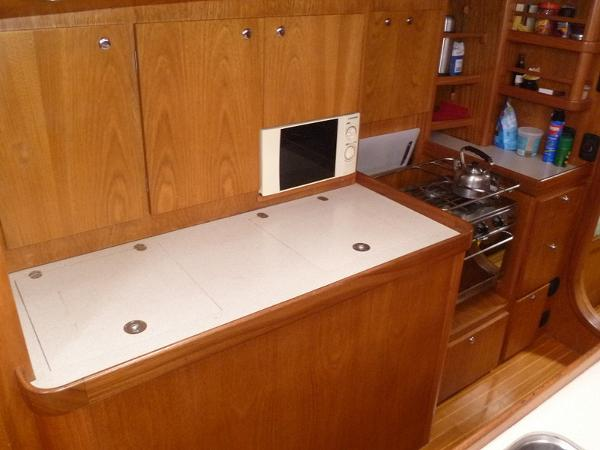 New Galley Cabinets