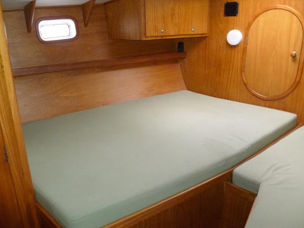 Owner Stateroom Bed