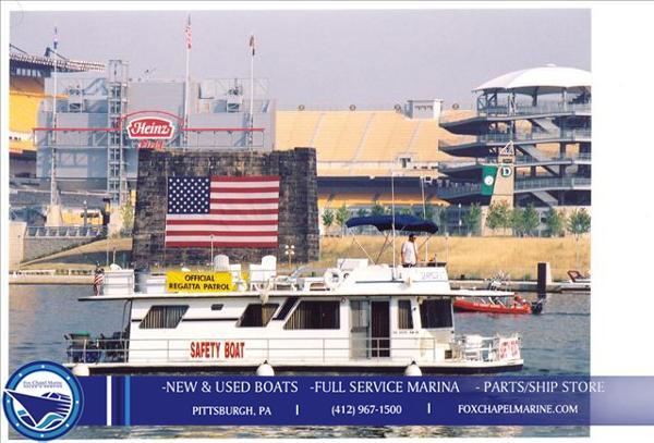 Gibson Executive House Boat