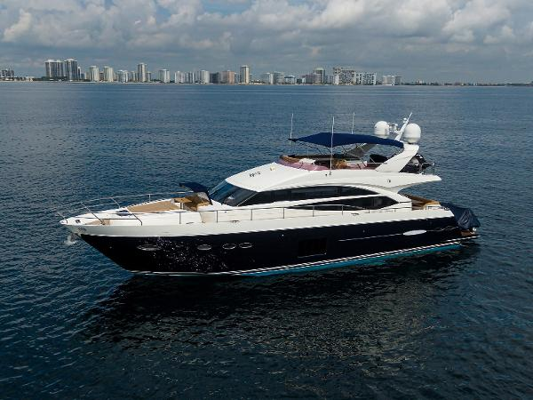 "Princess 72 Motor Yacht 2012 Princess 72' ''Down Time"" -  Profile"
