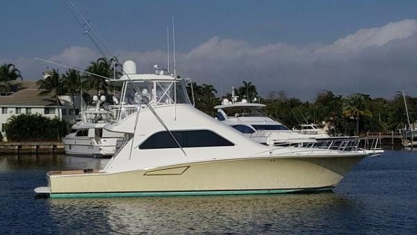 Cabo Rico 52 Convertible  Starboard Profile